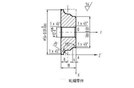 数控车床车削轧辊零件实例