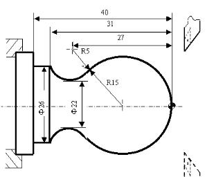 数控车床圆弧插补指令编程图文实例