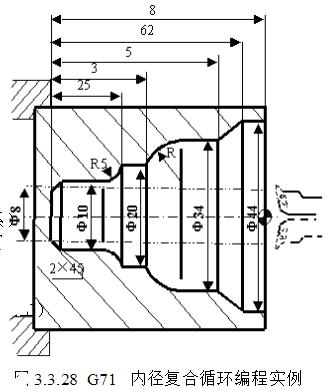 数控车床G71指令内径粗加工图文实例